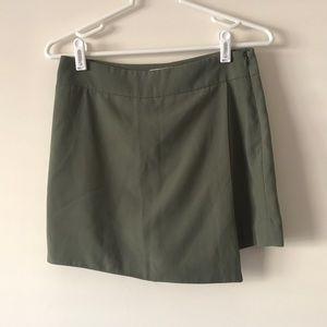 F21 foldover skort/shorts in back